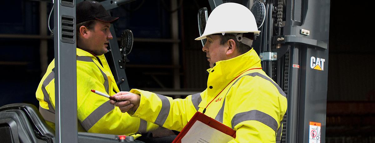 supervising forklift truck safety