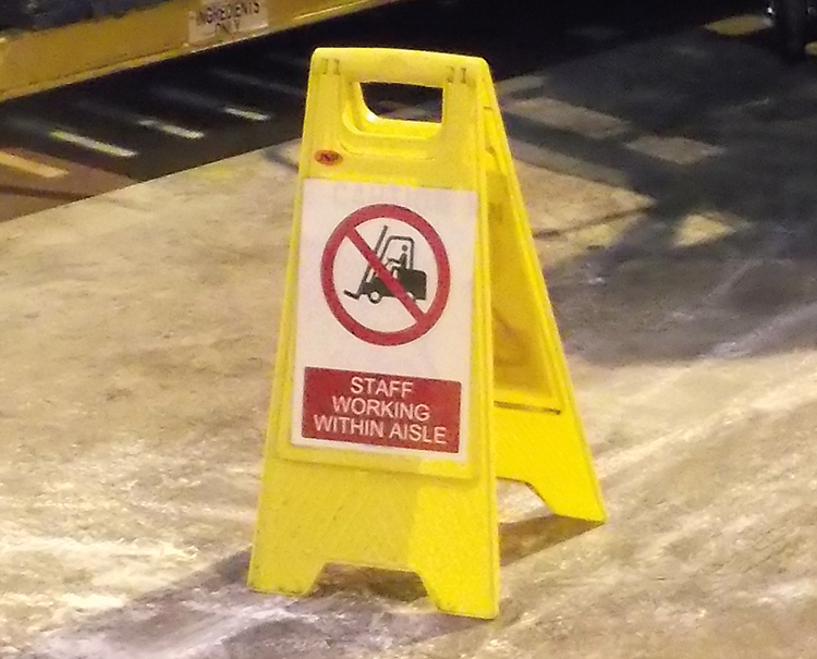Health and safety in the warehouse