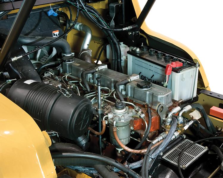 diesel fuel engine