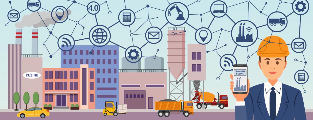 L'avenir des usines et des engins de manutention